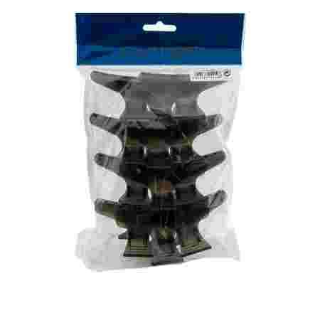 Зажим-жабка пластиковый Comair черный 12 шт