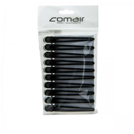 Зажимы Comair Combi черные 9,5 мм 10 шт