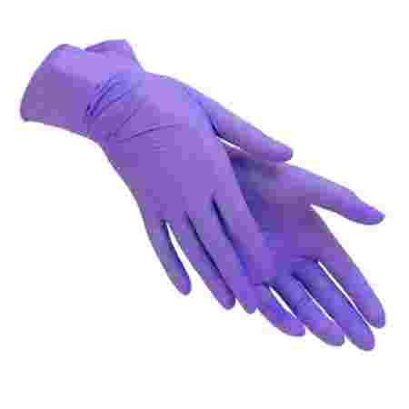 Перчатки нитриловые без пудры нестерильные ABENA Nitrylex Classic Фиолетовый 100 шт M