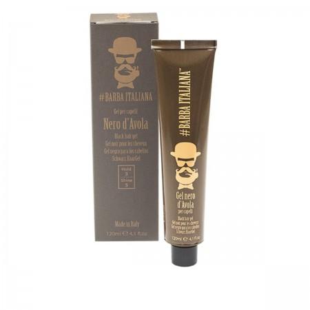 Гель оттеночный легкой фиксации для черных волос Barba Italiana D`AVOLA 10 мл