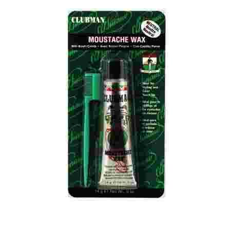 Воск Clubman Moustache Wax Hang Pack для усов 14 г (Neutral)