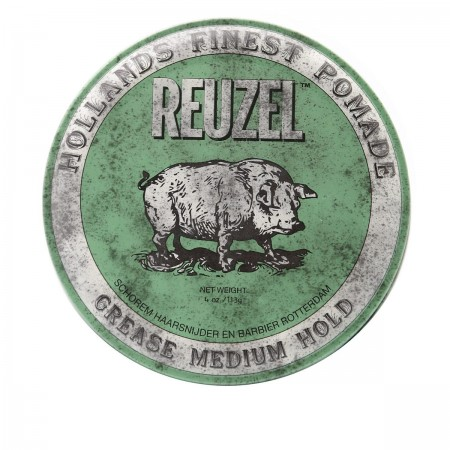 Бриолин Reuzel Grease Medium Hold (Green) 113 г