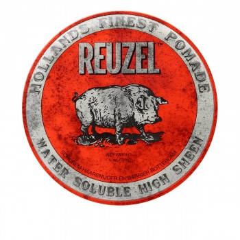 Бриолин на водной основе Reuzel Water Soluble Hight Sheen Pomade (Red) 113 г
