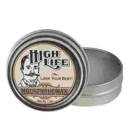 Воск для усов High Life Moustache Wax 28 г