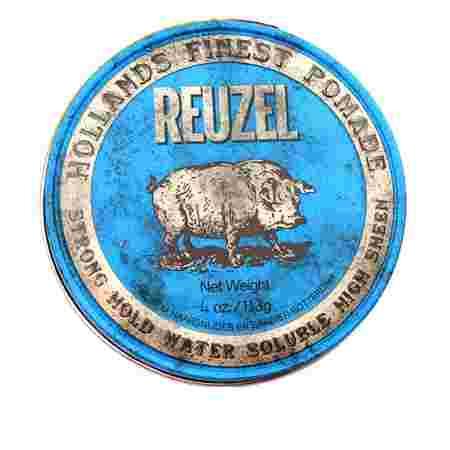 Бриолин на водной основе Reuzel Strong  Hold Water Soluble Hight Sheen (Blue) 113 г