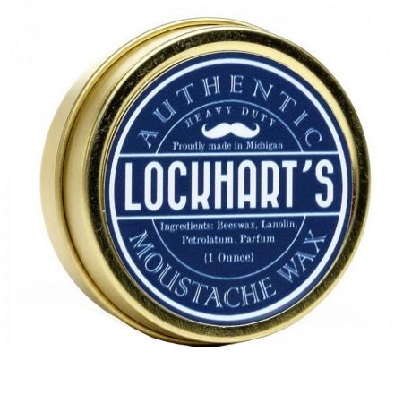 Воск Lockhart's ддя усов сильной фиксации Moustache Wax Heavy Duty 28 г