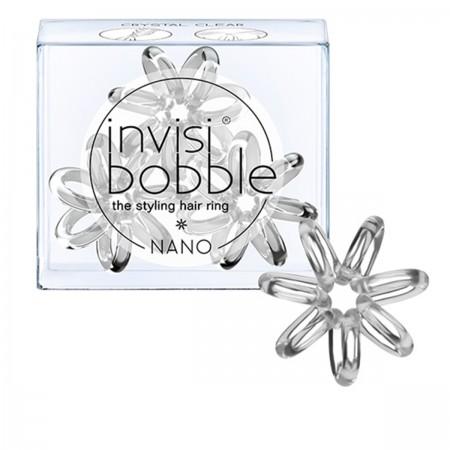 Резинка-браслет для волос Beauty Brands Invisibobble NANO Cristal Clear