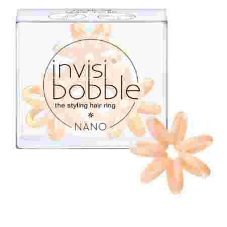Резинка-браслет для волос Beauty Brands Invisibobble NANO To Be or Nude to Be