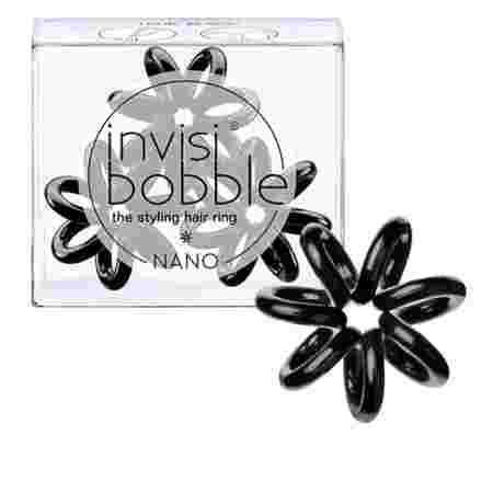 Резинка-браслет для волос Beauty Brands Invisibobble NANO True Black