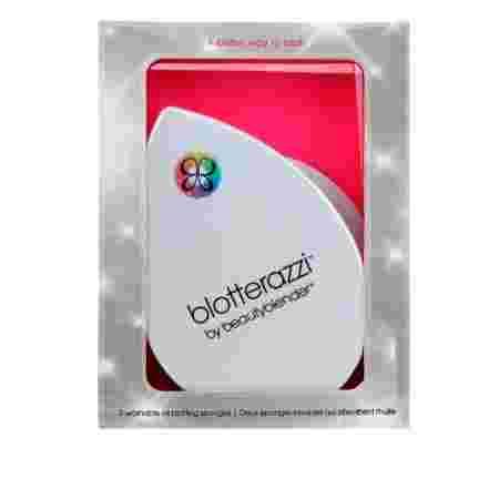 Матирующий спонж Beauty Brands Beautyblender blotterazzi 2 шт + зеркало
