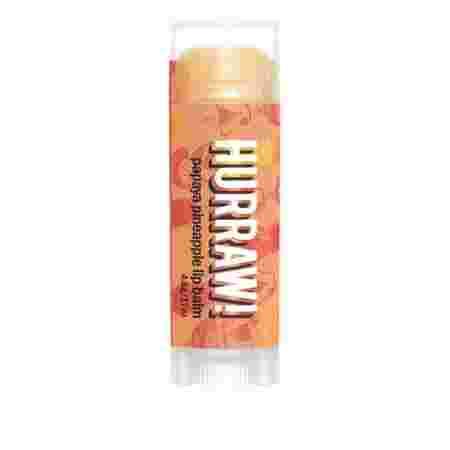 Бальзам для губ Hurraw! 48 г (Papaya Pineapple)