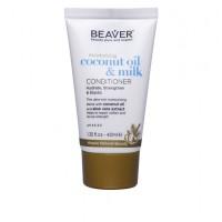 Кондиционер BEAVER Coconut Oil разглаживающий для сухих и непослушных волос 40 мл