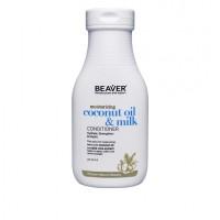 Кондиционер BEAVER Coconut Oil разглаживающий для сухих и непослушных волос 350 мл