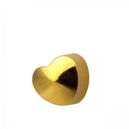 Серьги Caflon Studex средний размер Сердце R502Y