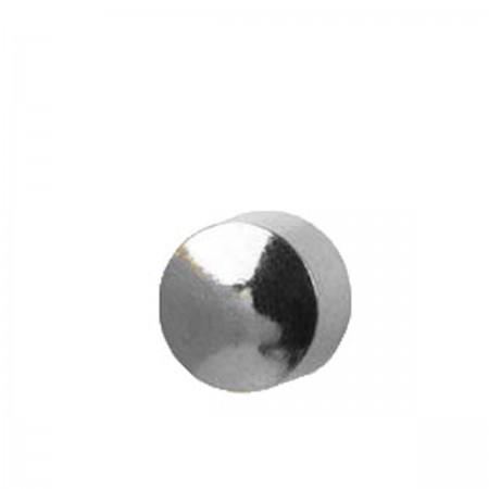 Серьги Caflon Studex средний размер Луна R506W серебро