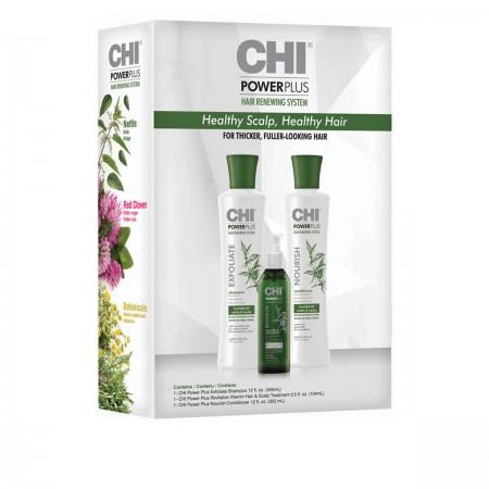 Набор для укрепления и улучшения роста волос CHI Power Plus