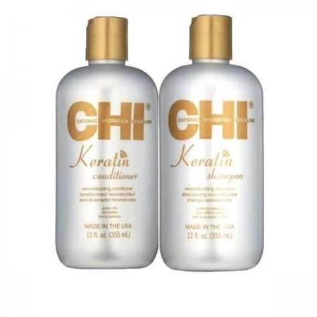 Набор CHI Keratin Duo (шампунь+кондиционер) 2*355 мл