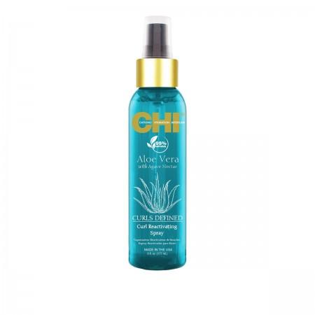 Спрей CHI Aloe Vera для восстановления вьющихся волос, 177 мл
