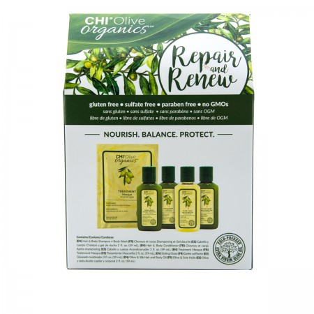 Набор CHI Olive Organics Repair&Renew (5*59 мл)