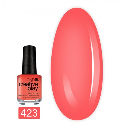 Лак для ногтей CND Creative Play 13,6 мл (423 Peach Of Mind)