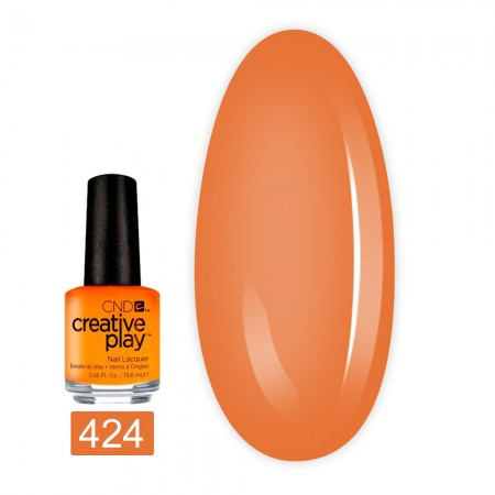 Лак для ногтей CND Creative Play 13,6 мл (424 Apricot In The Act)