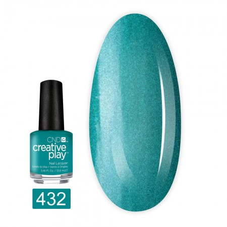 Лак для ногтей CND Creative Play 13,6 мл (432 Head Over Teal)