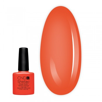 Гель-лак CND Shellac 7.3 мл (Electric Orange)
