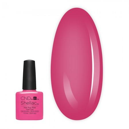 Гель-лак CND Shellac 7.3 мл (Hot Pop Pink)