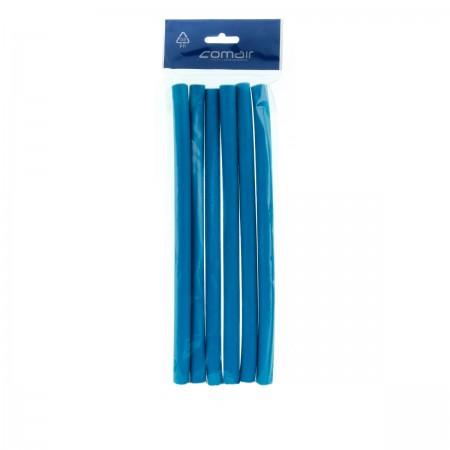 Бигуди папилоты Comair Flex синие 14*254 мм 6 шт