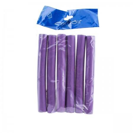 Бигуди папилоты Comair Flex фиолетовые 21*170 мм 6 шт