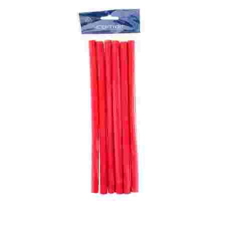 Бигуди папилоты Comair Flex красные 12*254 мм 6 шт