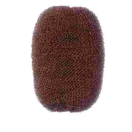 Валик для причесок овальный Comair коричневый 7*11 см
