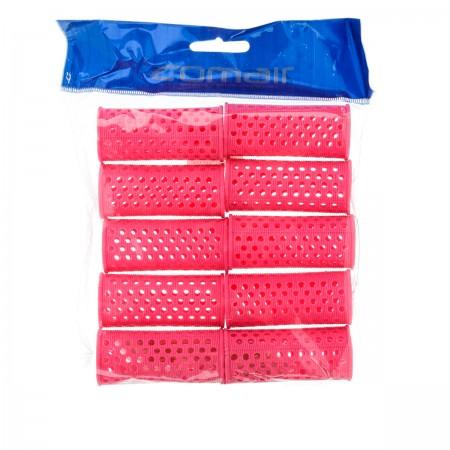 Бигуди пластиковые Comair розовые 27 мм 10 шт