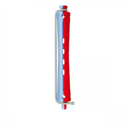 Бигуди для химической завивки Comair сине-красные 11 мм 12 шт