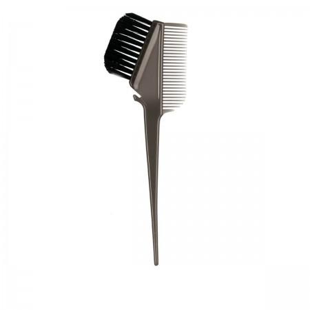 Кисточка для покраски с расческой Comair черная 21,5*7 см