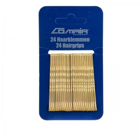 Невидимки Comair золотые 70 мм 24 шт