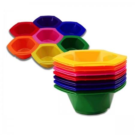 Мисочка Comair разноцветная для покраски (большая) 1 шт