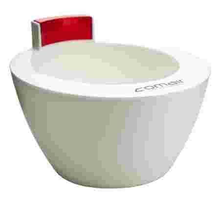 Миска для окрашивания Comair бело-красная 350 мл