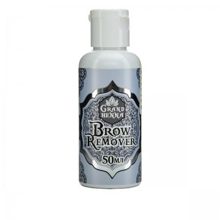 Ремувер Crystal Company для коррекции хны на коже Brow Remover 50 мл