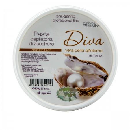 Шугаринг-паста профессиональная DIVA Soft 400 г