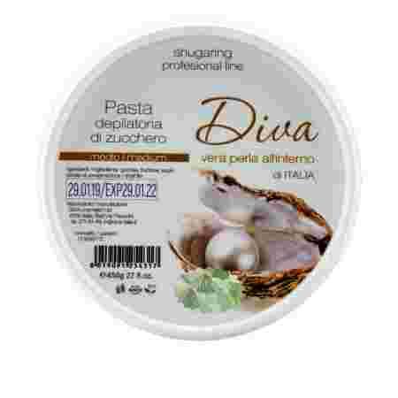 Шугаринг-паста профессиональная DIVA Medium 400 г