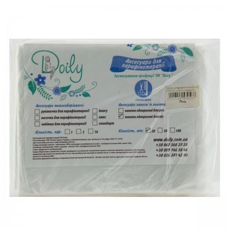 Пакеты для парафинотерапии ног Doily 30*50 20 шт в упаковке