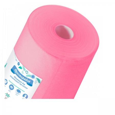 Простынь Doily розовая 0,8*100 м