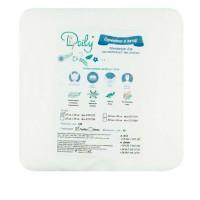Салфетки гладкие Doily 20*20 см 40 г/м2 100 шт в упаковке