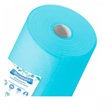 Простынь Doily Panni Mlada голубой 0,8*100 м рулон