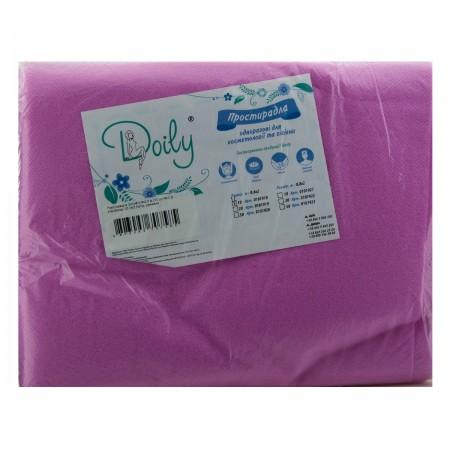 Простынь Doily 0,6х2 м 10 шт (Розовый)