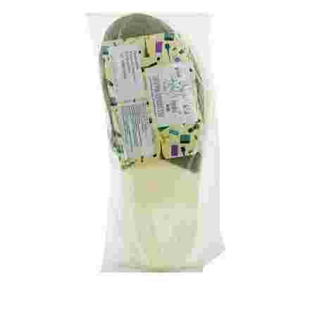 Тапочки Doily Panni Mlada одноразовые в индивидуальной упаковке кремовые 4 мм (Серебро)