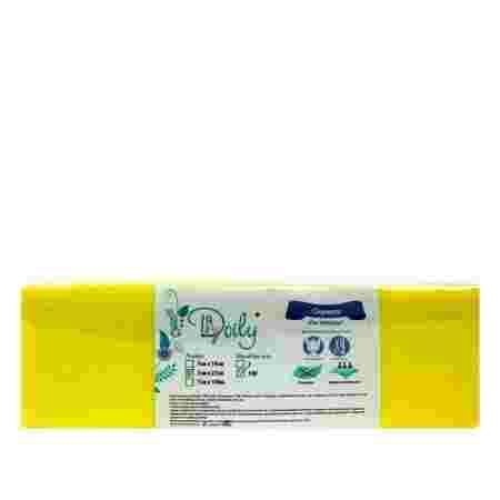 Стрипсы для депиляции Doily Panni Mlada из спанбонда желтый 7*22 см 100 шт