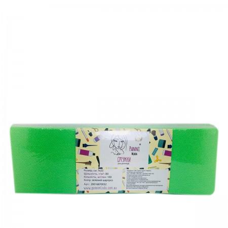 Стрипсы для депиляции Doily Panni Mlada из спанбонда зеленый шартрез 7*22 см 100 шт