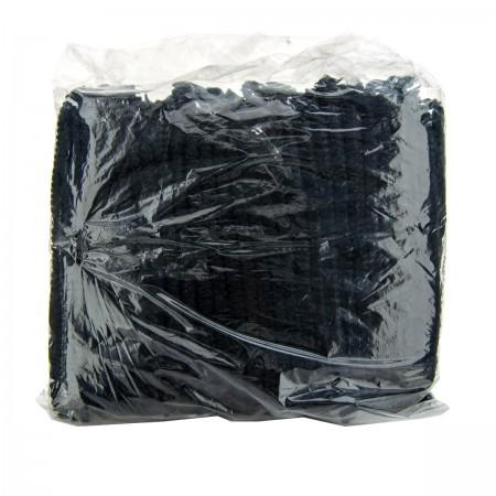 Шапочка Polix двойная резинка 100 шт (Черный)